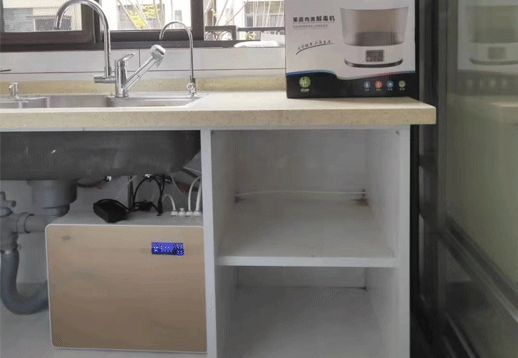 浙江客戶凈水器安裝案例